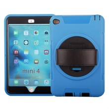 2018 trending products tablets covers for ipad mini 4 case all new combo armor rugged hybrid kick stand shockproof case