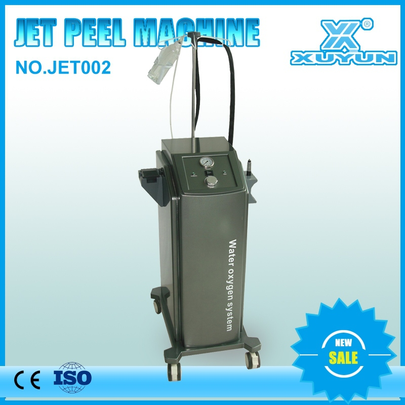 high power vertical water oxygen jet peel bs-jp4 skin rejuvenation system