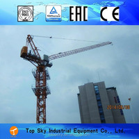 2.9t small luffing tower crane mini tower crane