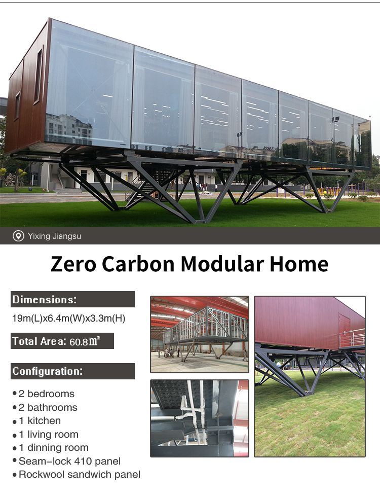 Modern High Quality Mobile Luxury Prefab Mini Container Modular Cabin Homes for Sale made in China