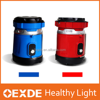 Flash light outdoor using red handed lamp 5W 220V rechargeable Solar led emergency camping lantern
