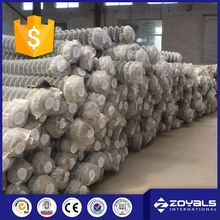 Construction Chain Link Fence Mesh Fabric Prices
