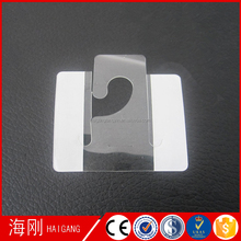 Quality assurance plastic adhesive j hook hang tabs