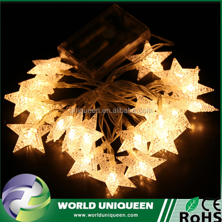 Shenzhen Event / Party Supplies Indoor and outdoor Type Xmas decoration Battery operated LED Twinkle String Lights