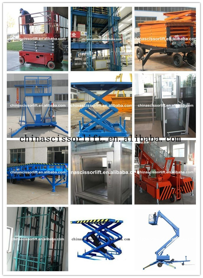 Electric Hydraulic Four Scissors Lifting Platform