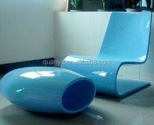 Various color fiberglass Chaise lounge made in China