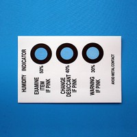 Various Dots Humidity Indicator Card For