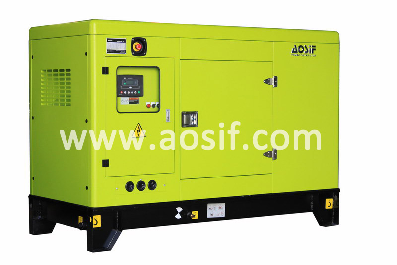 Electrical soundproof mini diesel generator set powered by perkins engine