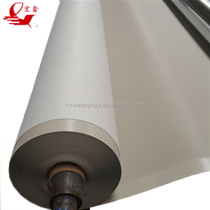 China manufacturer pvc self-adhesive waterproof membrane with high quality