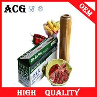keep fresh adhesive pvc food cling film for packaging