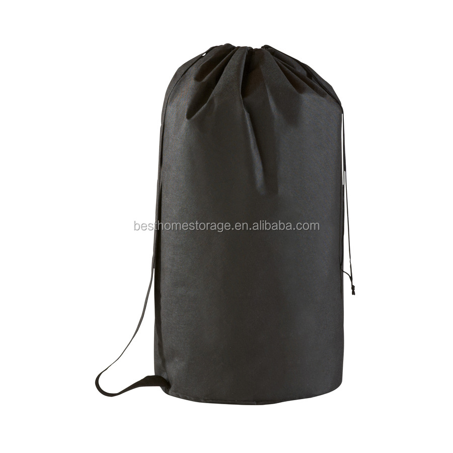 drawstring easy carry laundry bag
