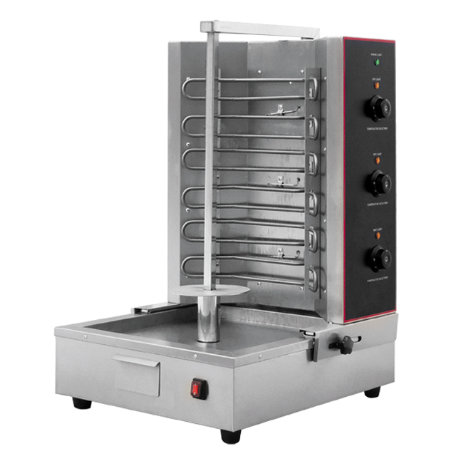 Stainless Steel Electric Shawarma Machine EB-RE03