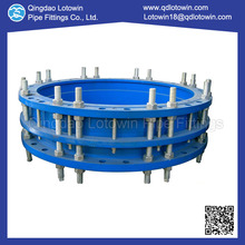 Customized Cast Nodular Iron Restraint used for pipe fittings stainless steel flanged dismantling joint