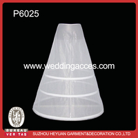 P6025 Wholesale High-quality Wedding Dress Hoop Petticoat for Bridal