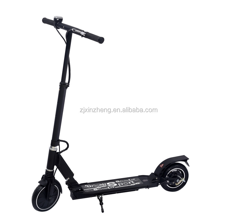 cheap and light foldable 2-wheel electric scooter 250W/36V with lithium battery