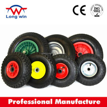 flat free wheelbarrow tire / Urethane Solid Foam Wheel / wheelbarrow PU foam wheel