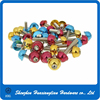 China Professional Screw Manufacturer Anodized Aluminum Round Button Head Self-tapping Screw With Colorful Cap