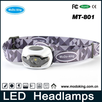 Hot Sell OEM ODM Headlamp LED Light Factory 3 AAA Battery Outdoor Sport LED Headlamp