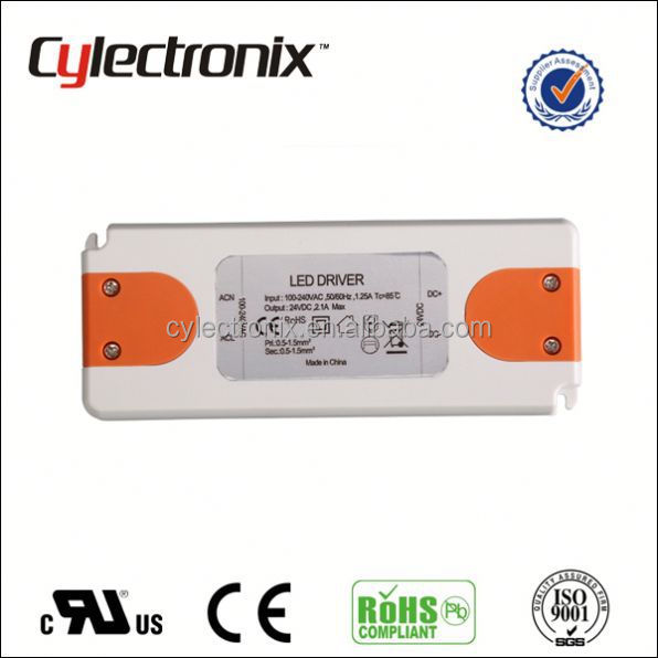 2015 New Small Size Ultra Thin Switching Power Supply 15W Single Output slim led driver