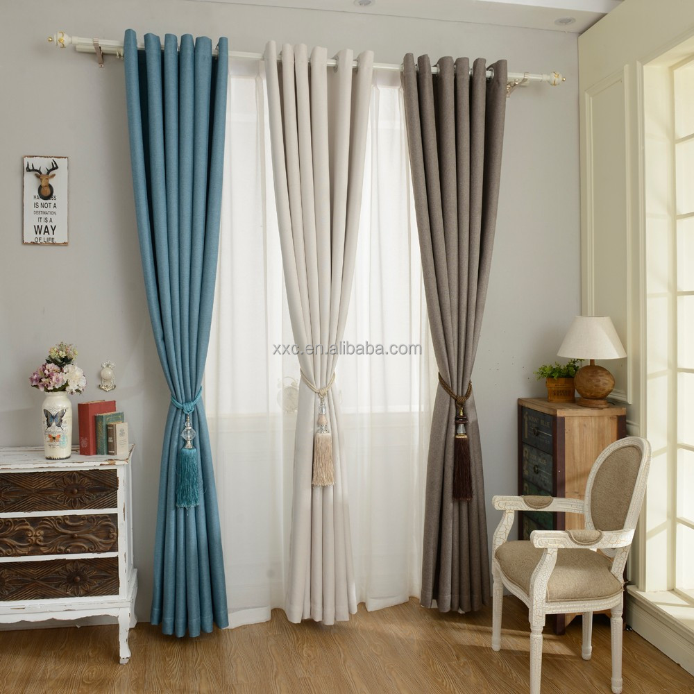 Excellent quality elegant style hot sale window curtain latest curtain