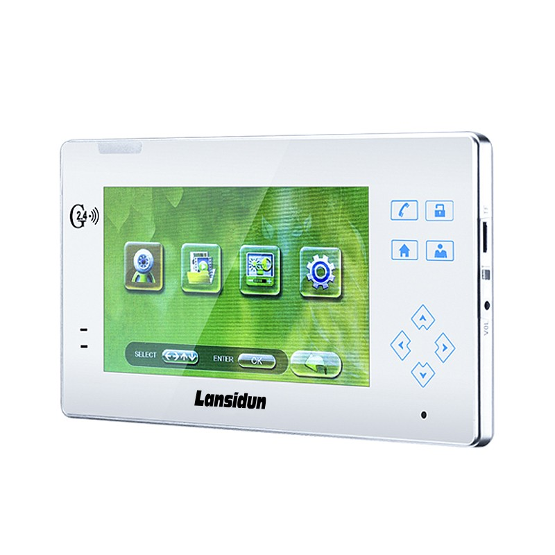 long range 2.4G waterproof wireless video intercom for villa