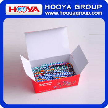 50mm wholesale different kinds office cheap colorful plastic paper clip