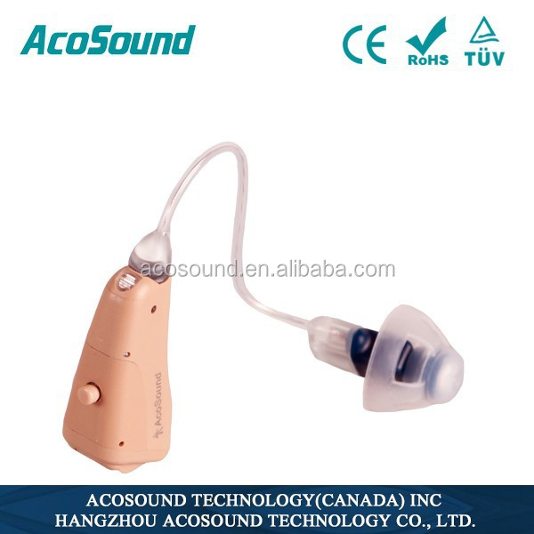 China Manufacturer Oem Useful AcoSound Acomate 821 RIC Best Price CE Approved Ear Products for Health