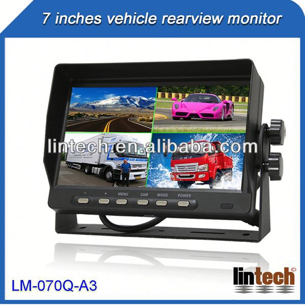 New car monitor 7 inch portable lcd screen for car universal