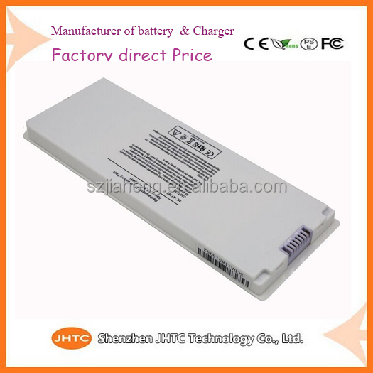 "Very competitive price Laptop Battery for Apple MacBook 13"" 13.3 Inch A1181 A1185 MA561 MA566 White lithium polymer battery pack"