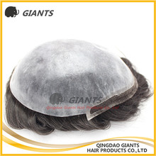 Aliexpress Made in China 100% remy human hair toupee