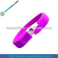 Hotsale usb flash drive waterproof bracelet