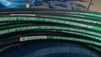 China Hebei Dongjin factory sale SAE 100R1 hydraulic rubber hose/oil hose