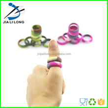 2015 custom fashion style silicone finger / thumb ring with your logo