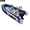 4.7m CE best-selling hypalon rib inflatable boat with outboard motor