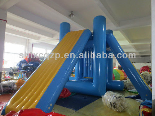 crazy inflatable water games/inflatable aqua tower