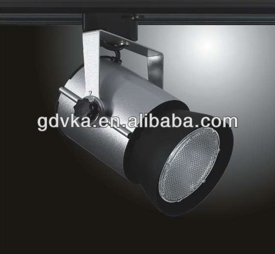 metal halide track ceiling spot light ,round metal halide light fixture