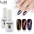 L&M Guangzhou factory Wholesale new arrival nail polish uv led cat eye gel for nail