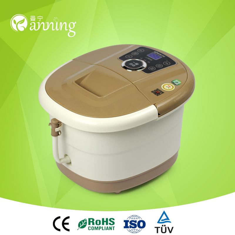 Hot fashion therapy foot massage tub,electric foot grinding massager,bath electric foot grinding massager