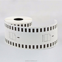 label factory compatible sticker label dk-22205 62mm*30.48mm tape for QL Series Printer