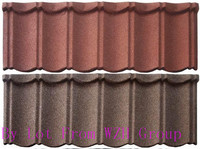 2014 new design colorful stone coated metal roofing tiles made in china