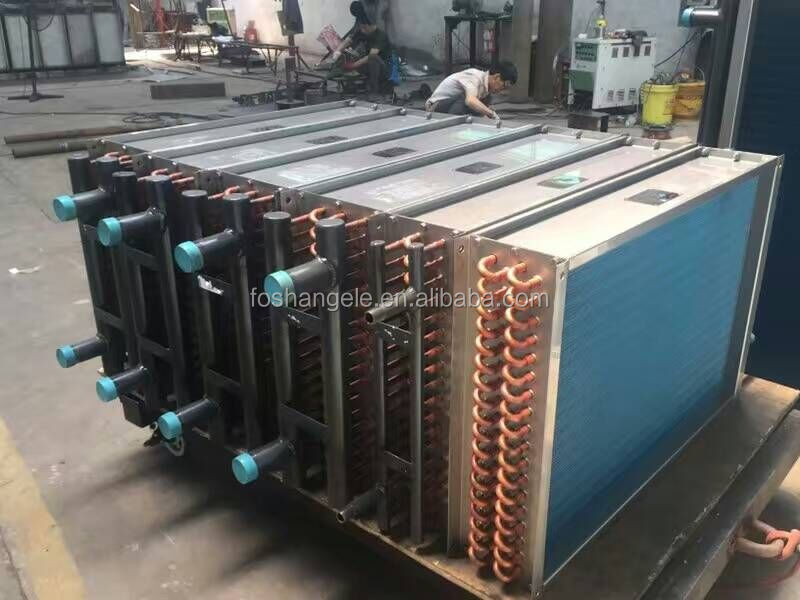 top quality heat exchanger coil water cooling radiator chilled water cooling coil