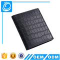Designer Men Wallets Genuine Crocodile Pattern Leather Male Short Purse RFID Card Holder Wallet