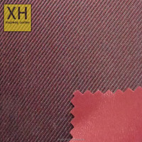 cheap 600D polyester yarn dyed fabric with pvc backing for bags