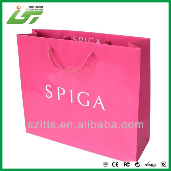 2017 Luxury net gift bag For Shopping
