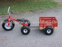 Children Tricycle with wagon