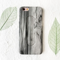Mobile Phone Accessories, Wood PU Leather Mobile Phone Case With U Shape Stand Holder