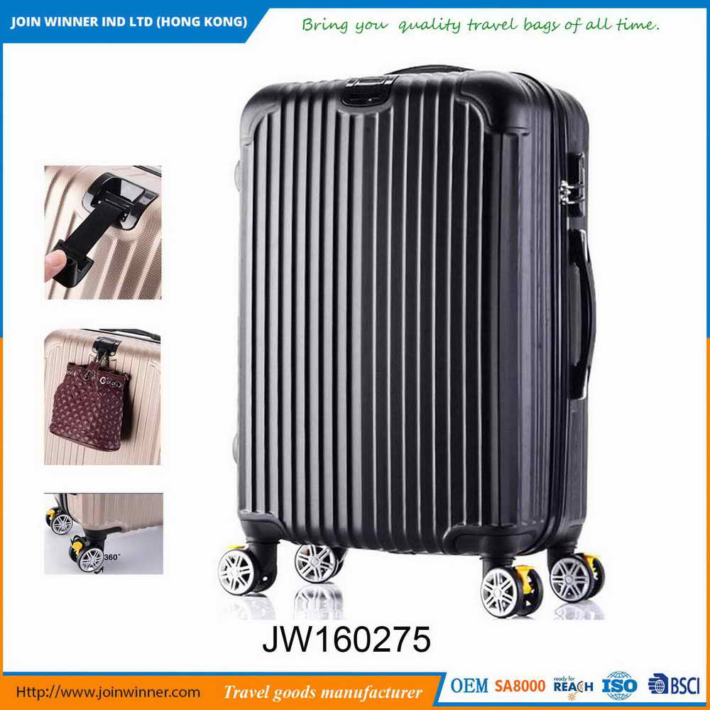 Moderate Construction Leopard Hard Case Luggage With Good Quality