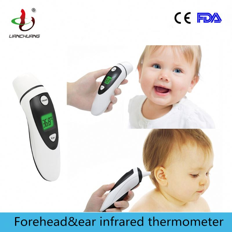 2 function in 1 electronic non-contact digital infrared thermometer