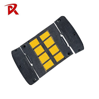 Hot sale Newest design rubber traffic speed bump /speed hump for traffic