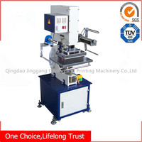 TJ-9 China CE certification pneumatic hot stamping machine for silk bags